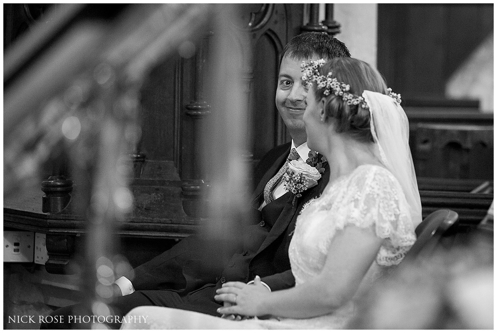 St Marys Church Wedding Denham