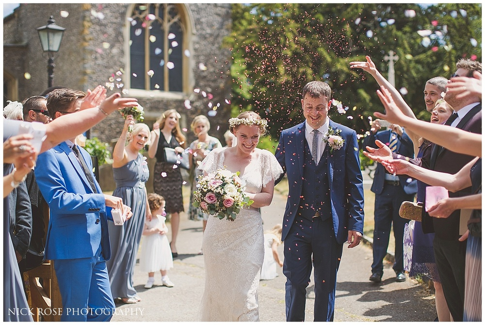 St Marys Church Wedding Photography Denham