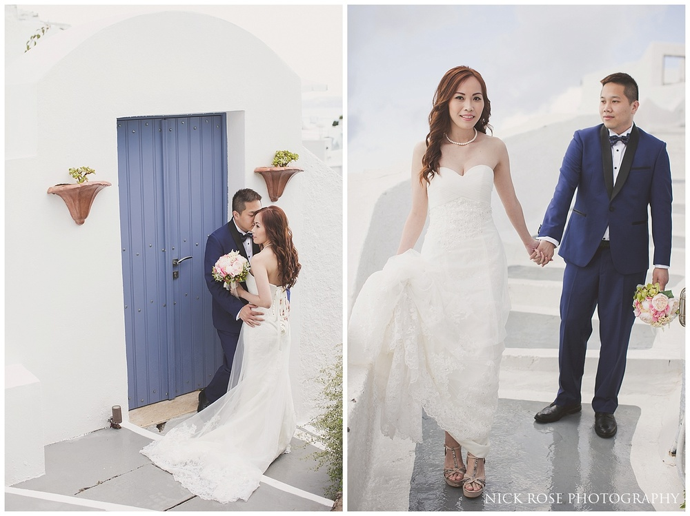 Santorini Destination Wedding Photography Greece