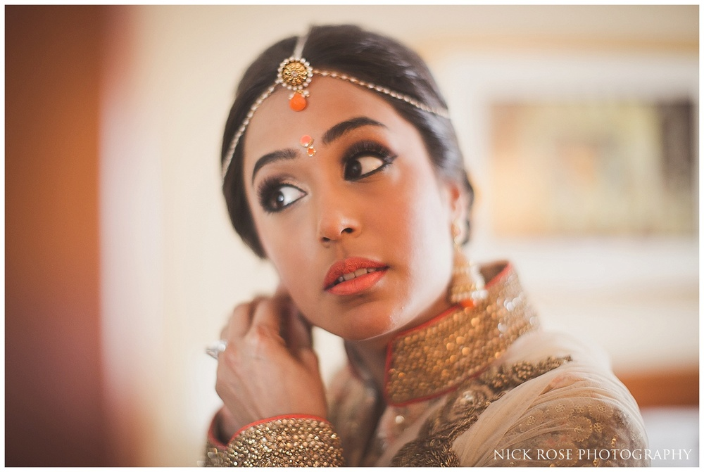 Hindu Wedding Chunni photography Hertfordshire
