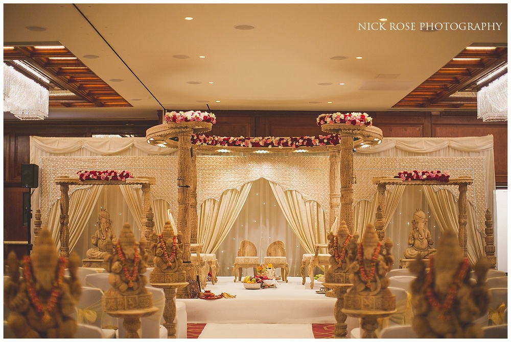 Hindu Wedding Mandap in Hayes Middlesex