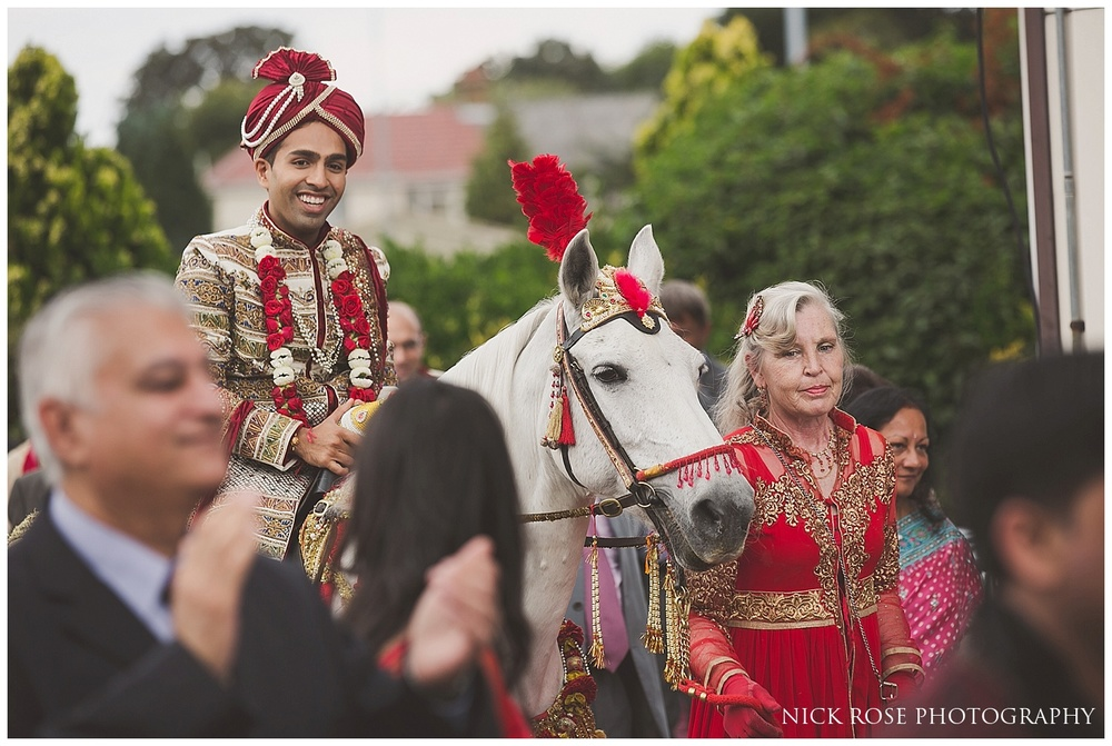Hindu Wedding Horse London Heathrow