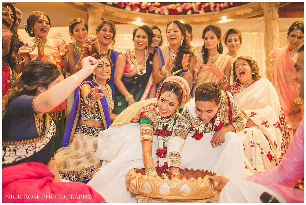 Creative Indian Wedding Photographer London