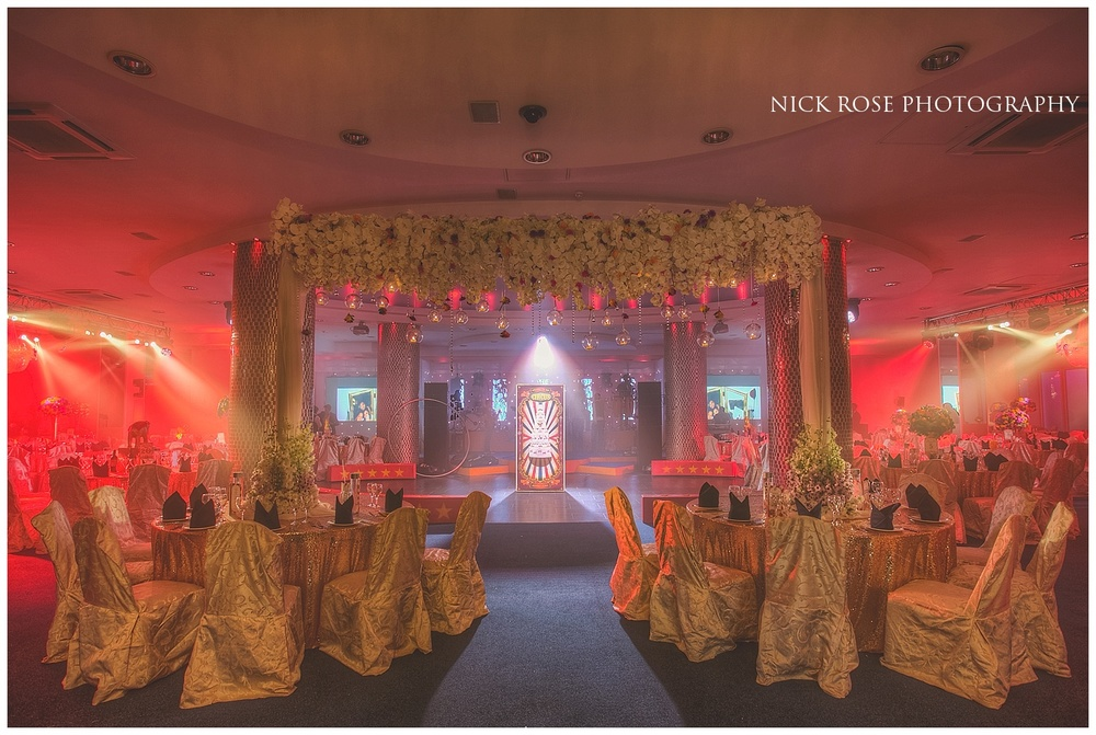 Asian Wedding Reception Premier Banqueting London