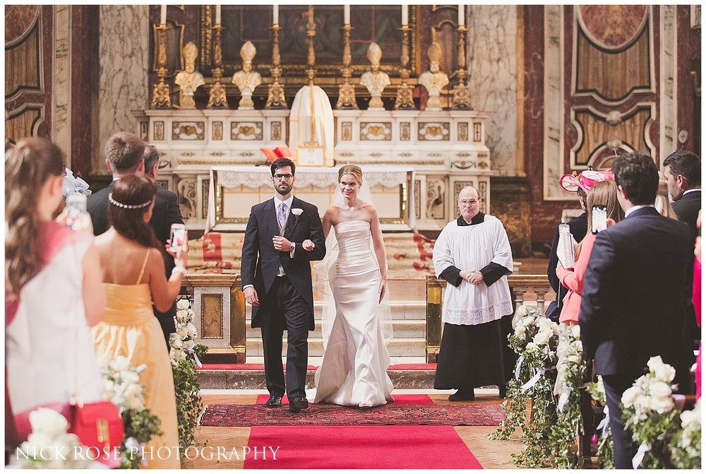 Brompton Oratory Wedding Photographer London