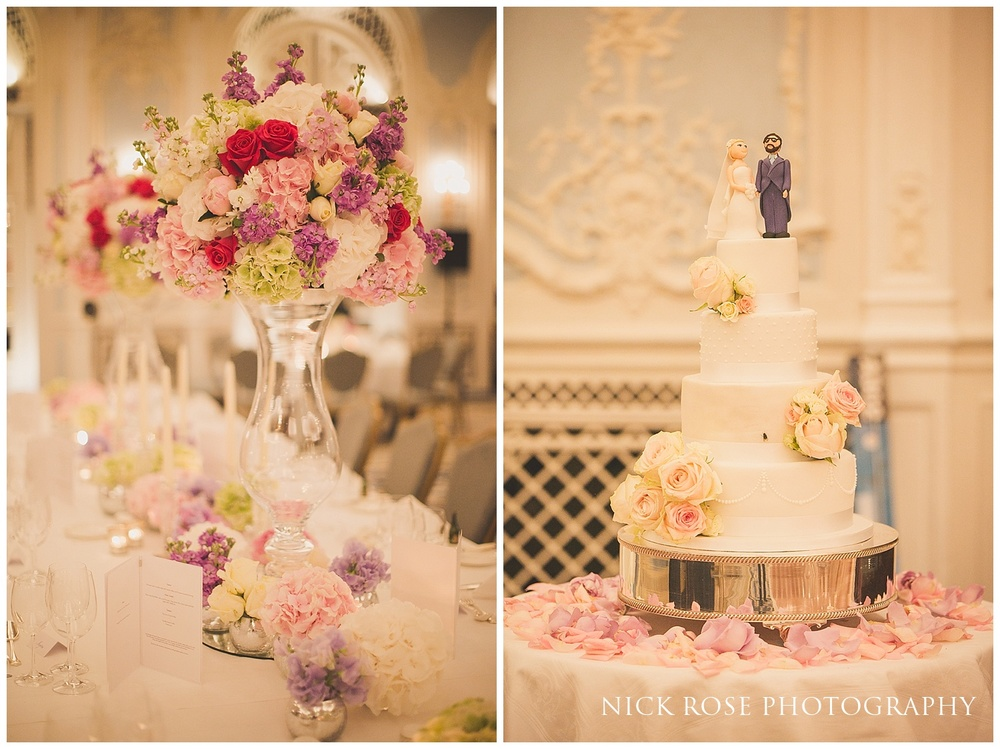Savoy Hotel Wedding Reception