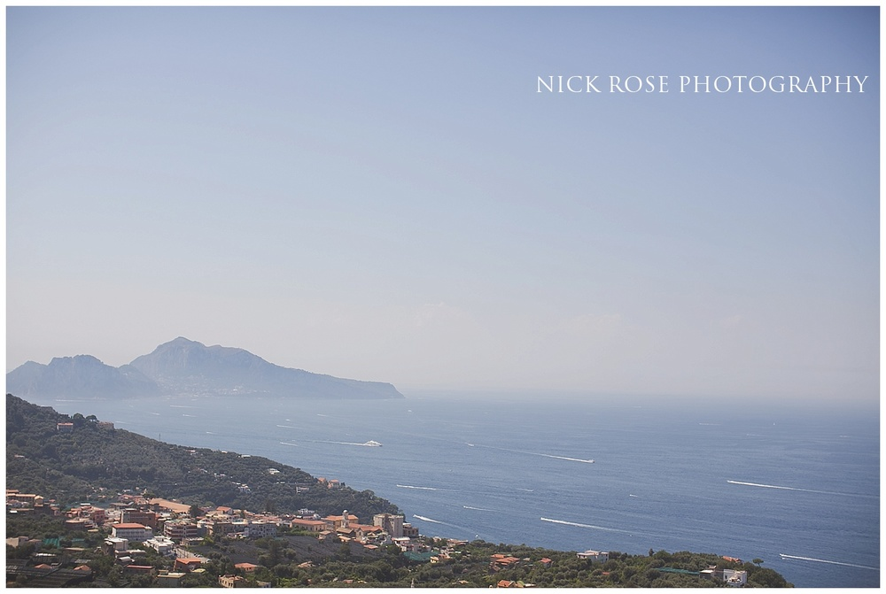 Destination wedding in Sorrento Italy
