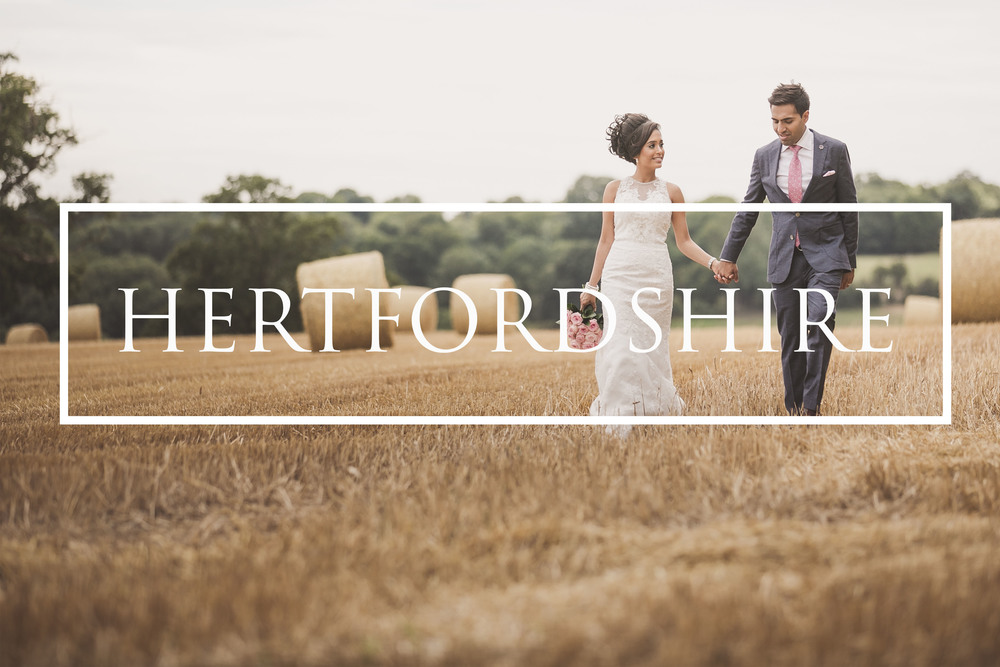 Hertfordshire Wedding Photographers