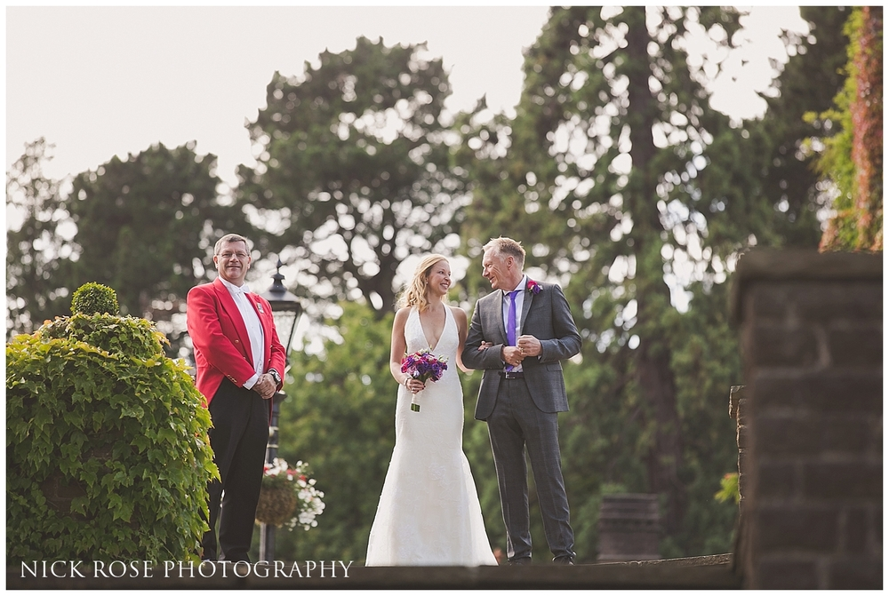Pennyhill Park Summer Wedding