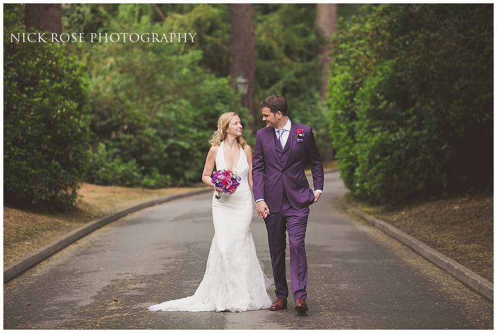 Pennyhill Park Wedding Photographs