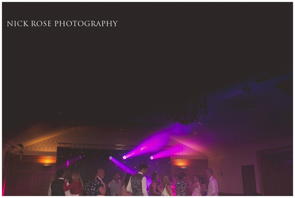 Wedding reception in Bagshot Surrey