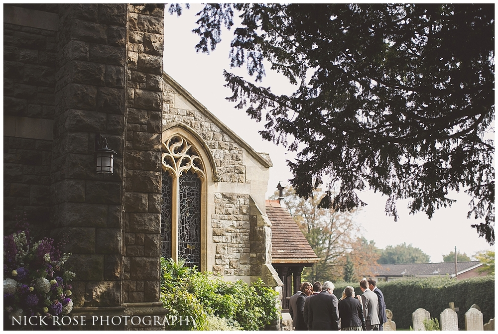 St Nicholas Church Wedding Taplow