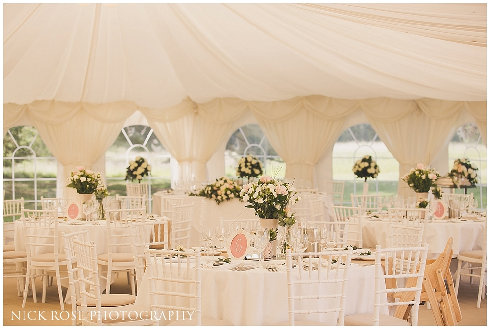 Silchester House Marquee Wedding