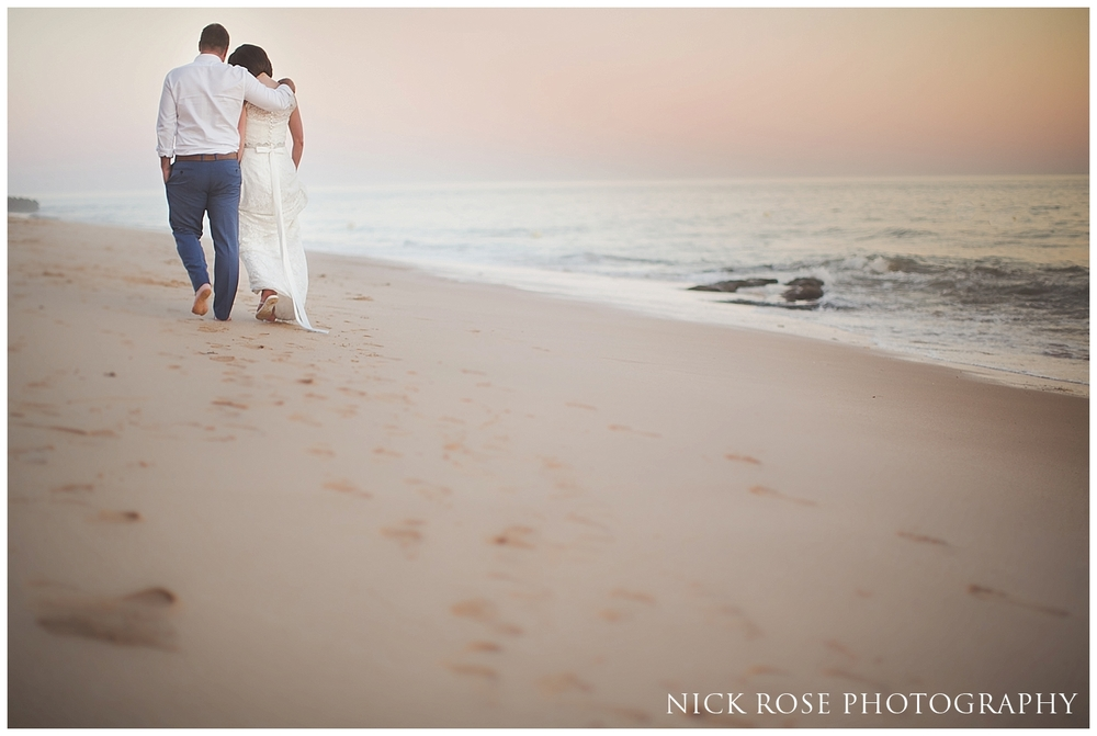 Destination Beach Wedding photography Algarve Portugal