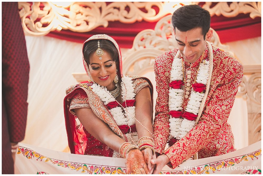 Hindu Wedding at Hatfield House