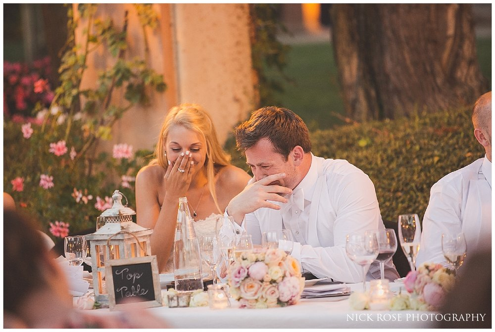 Destination Villa wedding in Italy