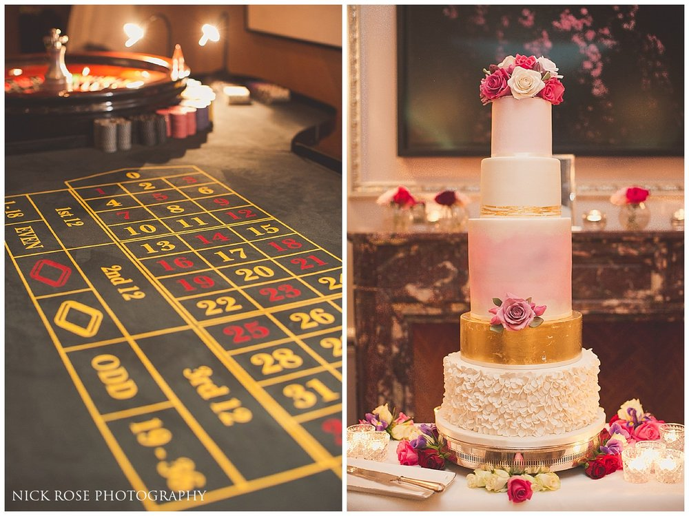 Wedding casino theme London