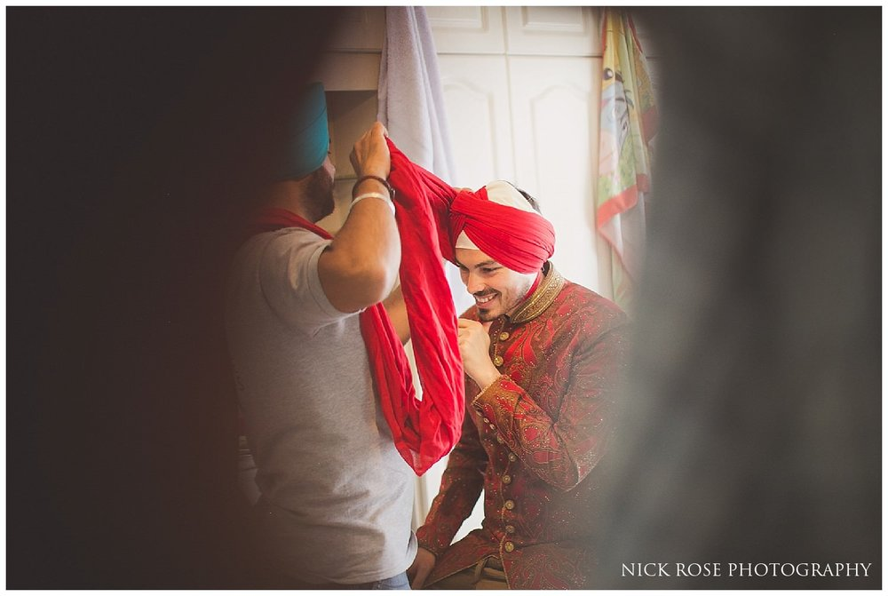 Portuguese Sikh Wedding Photographer London