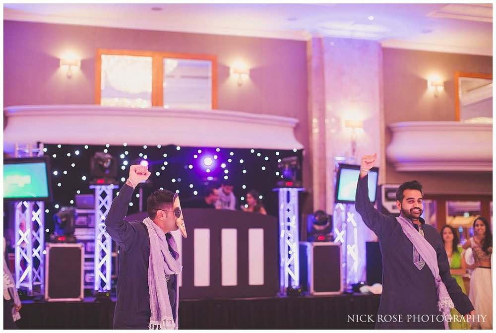 Hilton Park Lane London Hindu wedding
