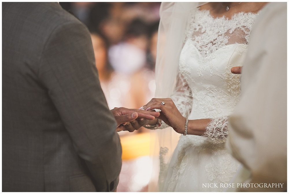 Catholic Wedding Photography Our Lady of Lourdes Church