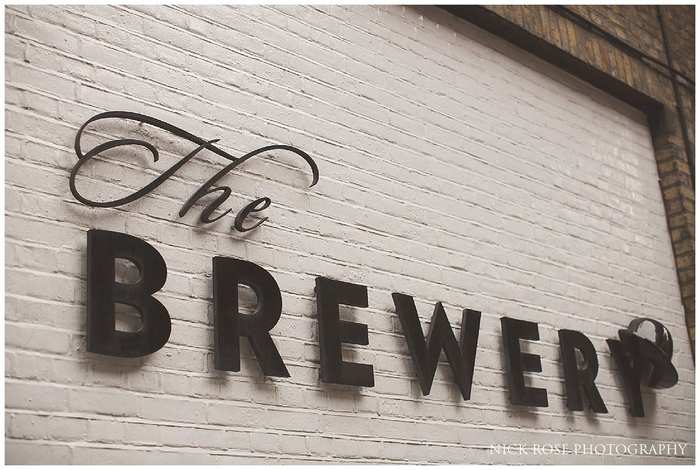 The Brewery London Wedding Photography