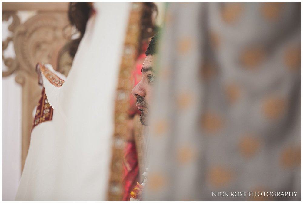 East Wintergarden hindu wedding in Canary Wharf London