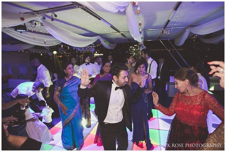 Dubai Marina Yacht Club Indian wedding reception
