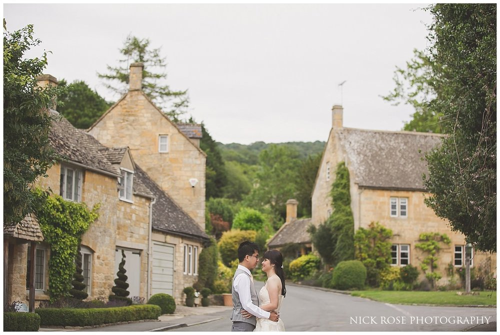 Cotswolds village pre wedding photography