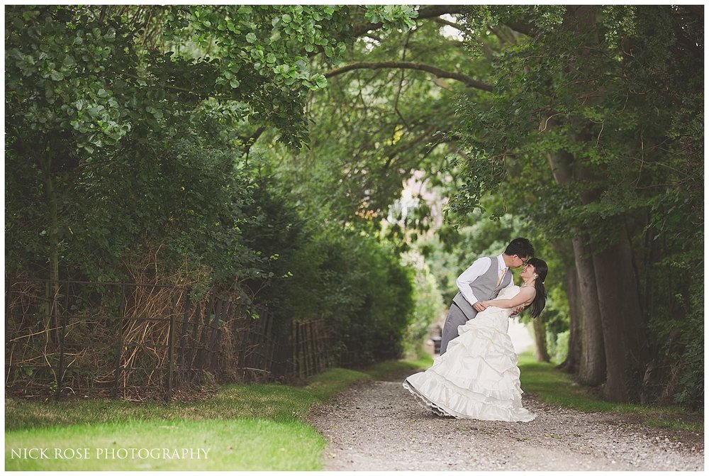 Pre wedding photography in the English countryside