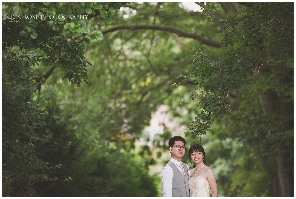 Pre wedding photography in the UK countryside