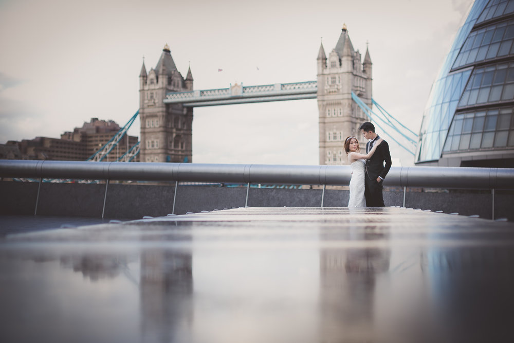 Tower Bridge London pre wedding photography