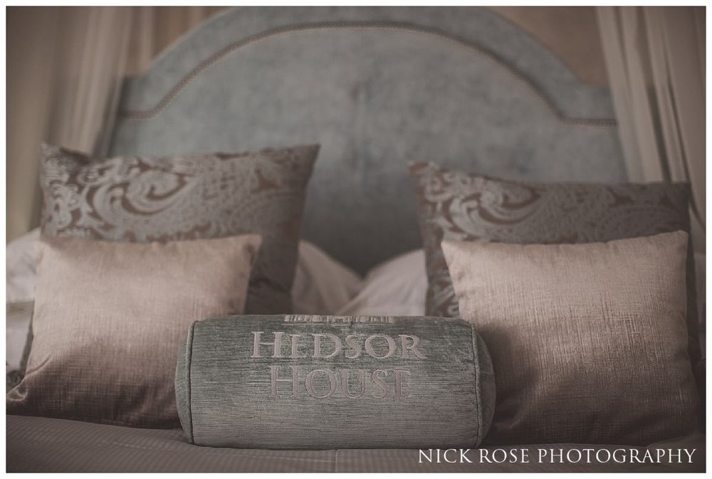The bridal suite at Hedsor House in Buckinghamshire