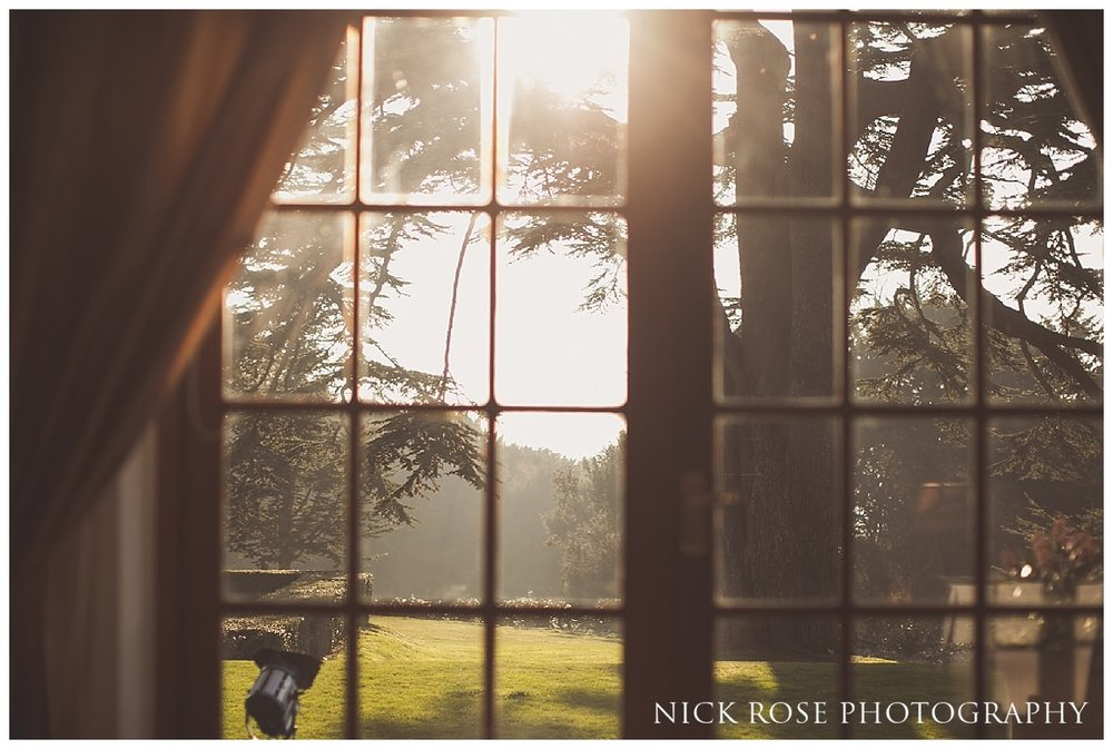 Beautiful sunny day for a winter wedding at Hedsor House in Bucks