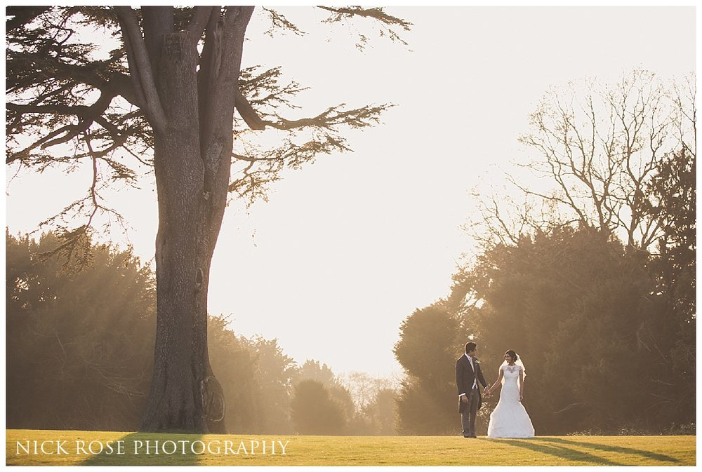 Hedsor House wedding photography couple portrait