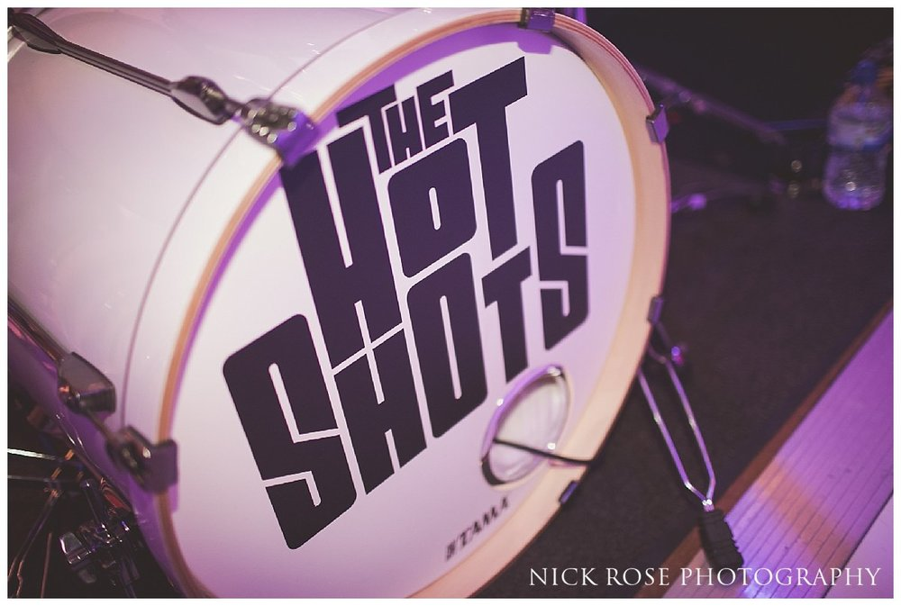 The Hot Shots wedding band