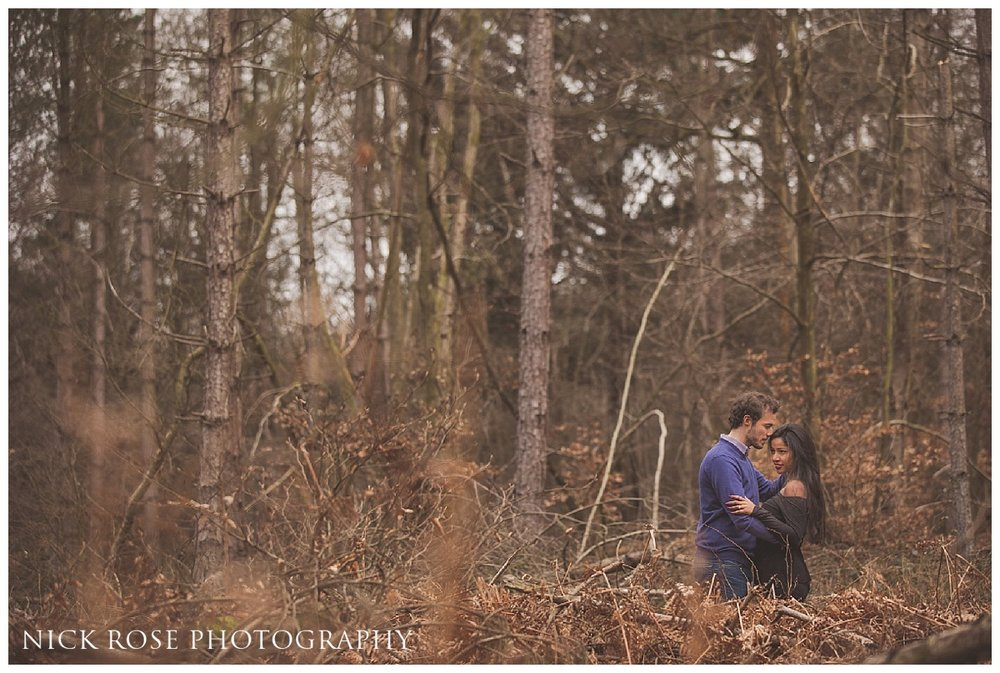 Penn Wood Engagement Shoot Buckinghamshire_0006.jpg
