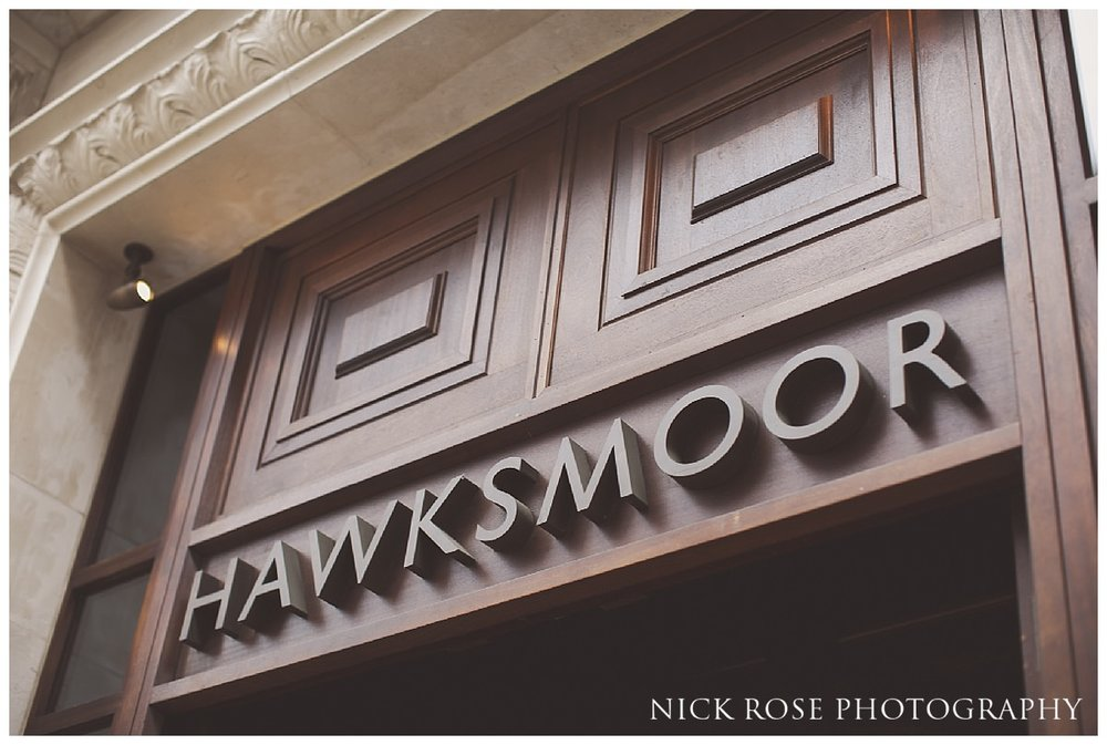 Hawksmoor wedding venue Guildhall London