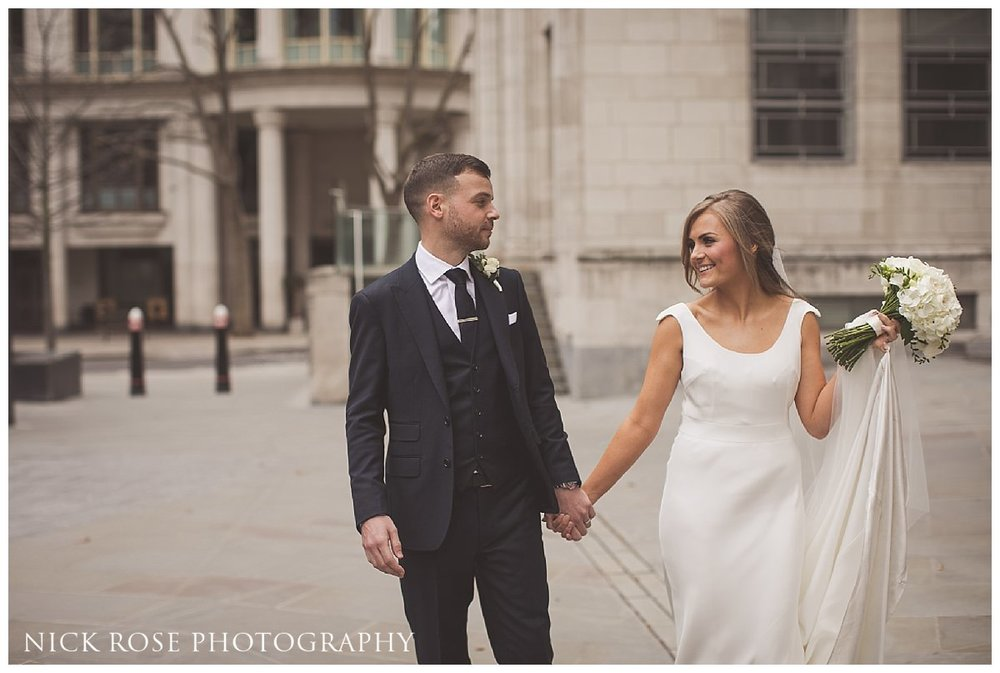 Hawksmoor Guildhall wedding in London