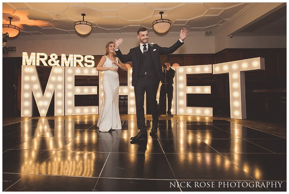 Bride and Groom wedding dance at Hawksmoor Guildhall