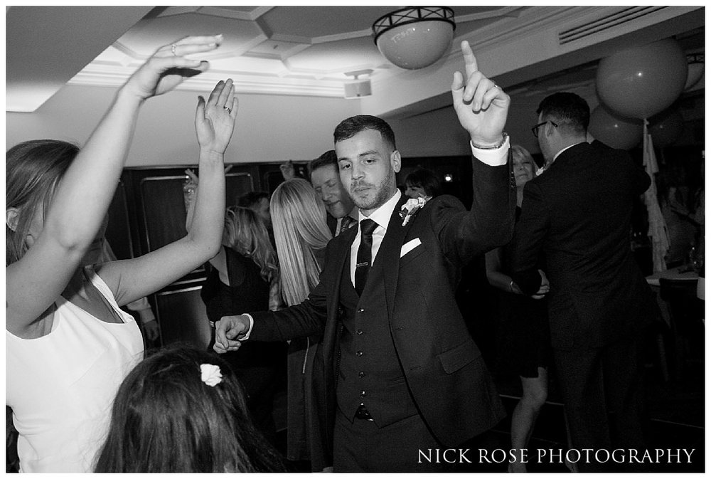 Guildhall London wedding reception dancing
