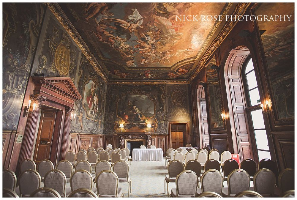 Thornhill civil wedding ceremony at Moor Park Rickmansworth