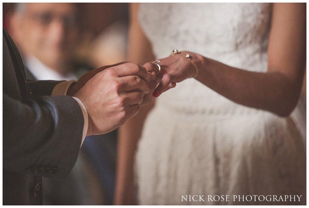 Hindu civil wedding ceremony at Moor Park Rickmansworth