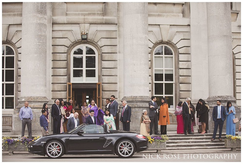 Hertfordshire wedding photograph at Moor Park Mansion by Nick Rose Photography
