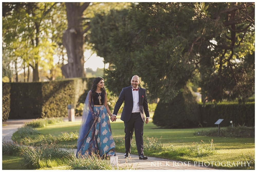 Hindu wedding photography at The Grove in Watford