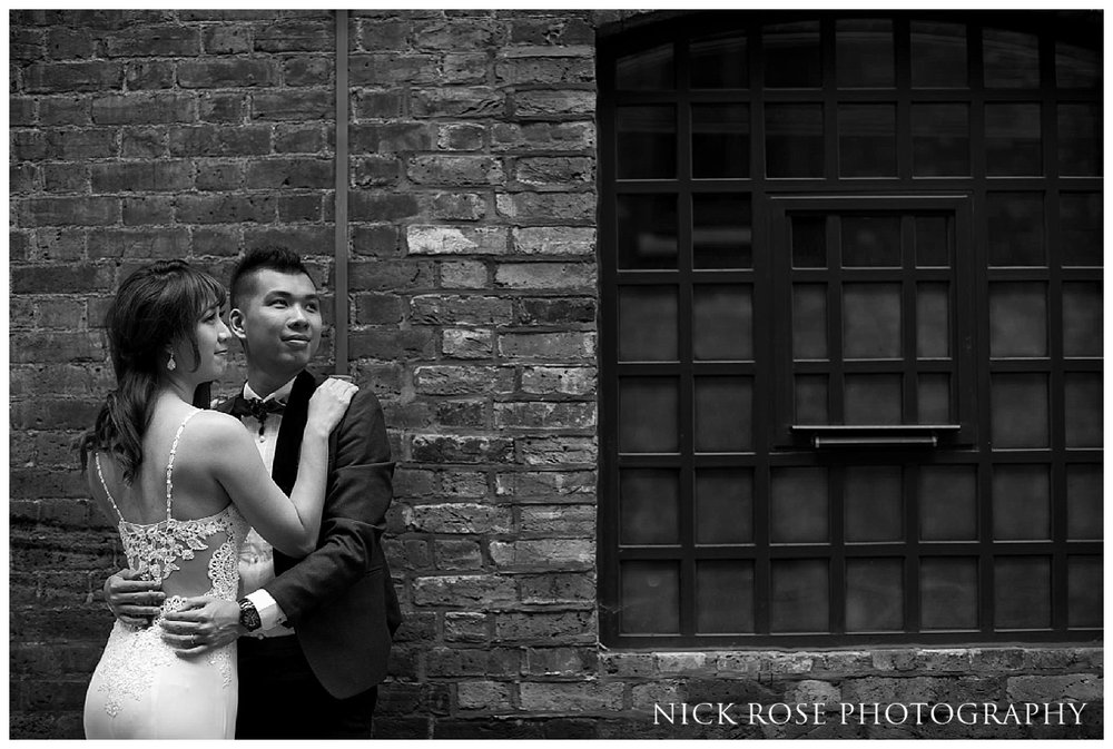 Pre wedding photography at Shad Thames London