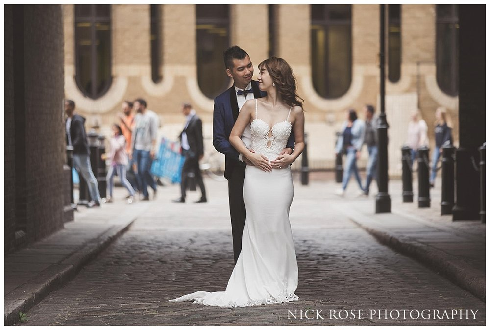 Pre wedding Photography along the South Bank in London