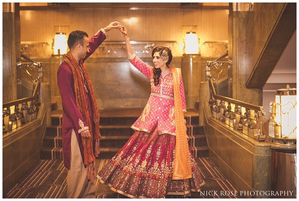Park Lane Sheraton Pakistani wedding event in London
