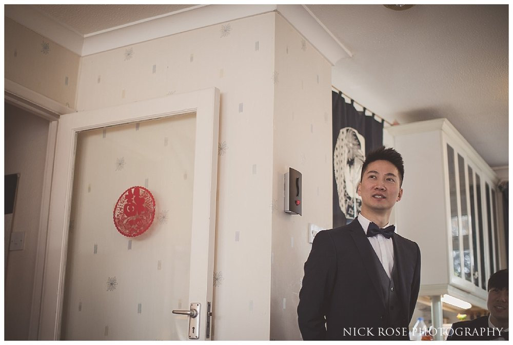 Chinese tea ceremonies before a wedding in London