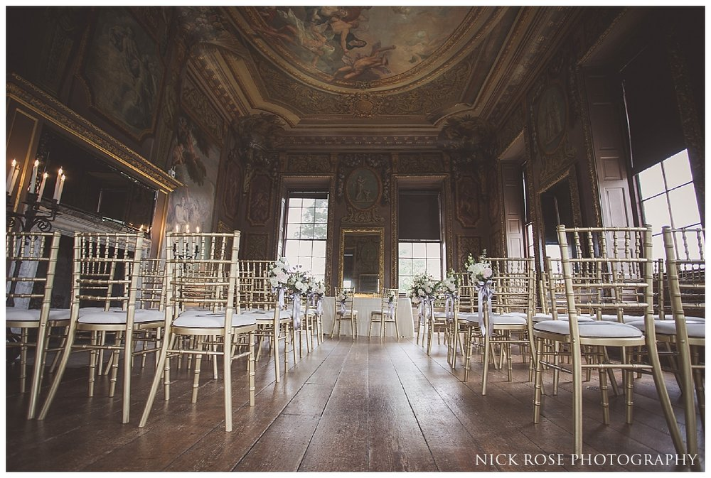 Wedding photography at the Little Banqueting House at Hampton Court Palace