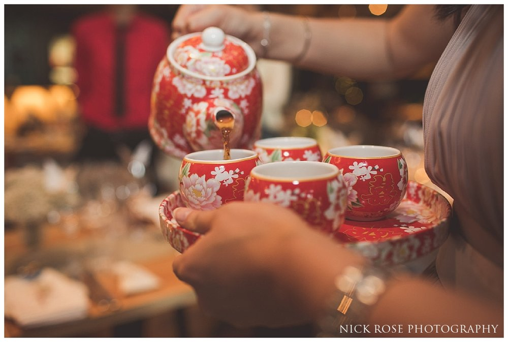 Chinese wedding tea ceremonies in London